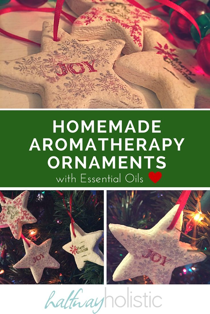 Homemade Aromatherapy Ornaments with Essential Oils | Christmas ornaments homemade, Diy ...