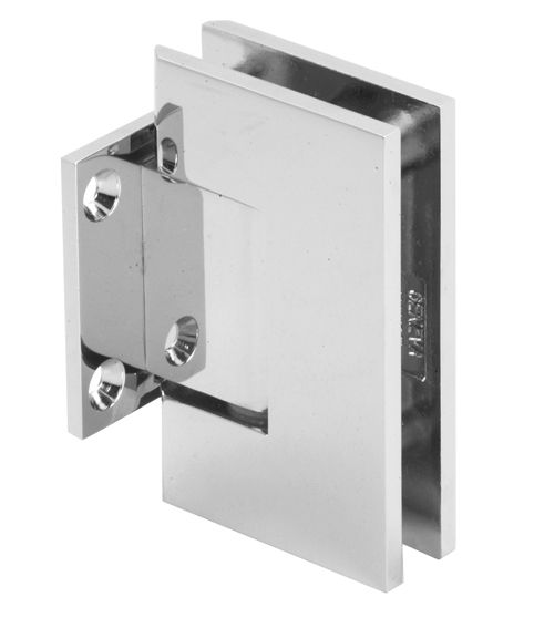 Square Edge Wall To Glass Shower Hinge On Short Back Plate To Suit 8 12mm Glass Glass Shower Shower Doors Shower