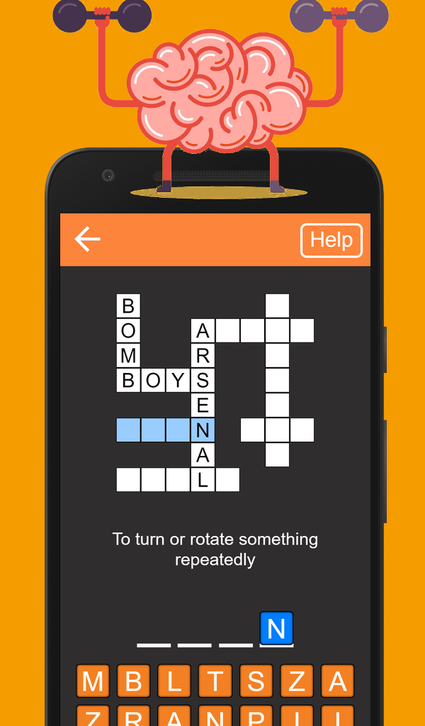 To Turn Or Rotate Something Repeatedly Quick Crosswords Google Play App App Crossword Game Based Learning