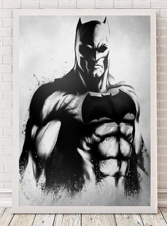 Batman Poster Art Film Poster Movie Poster | Cine arte, Carteles de ...
