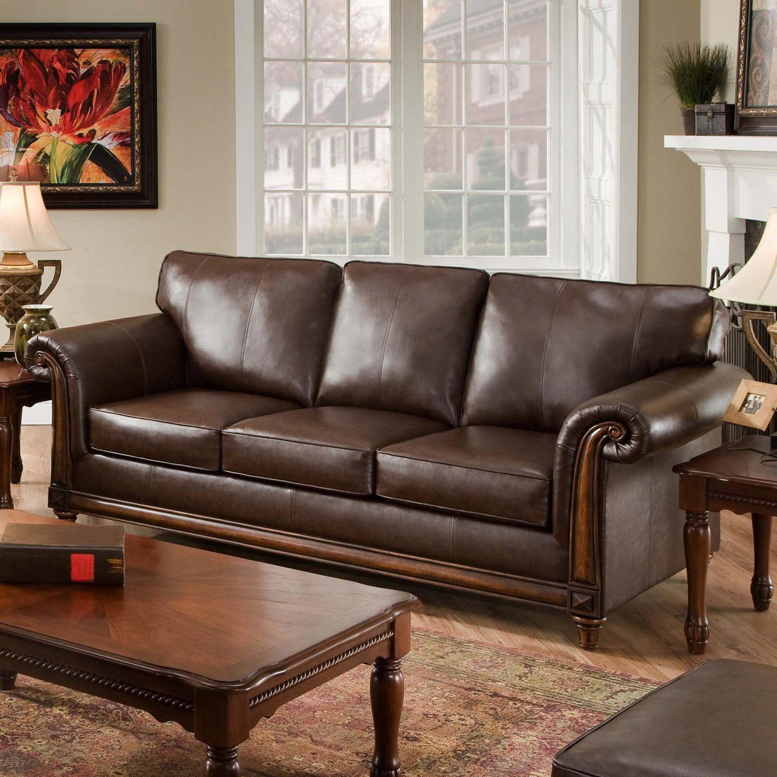 Simmons San Diego Coffee Simmons San Diego Coffee Leather Sofa ...