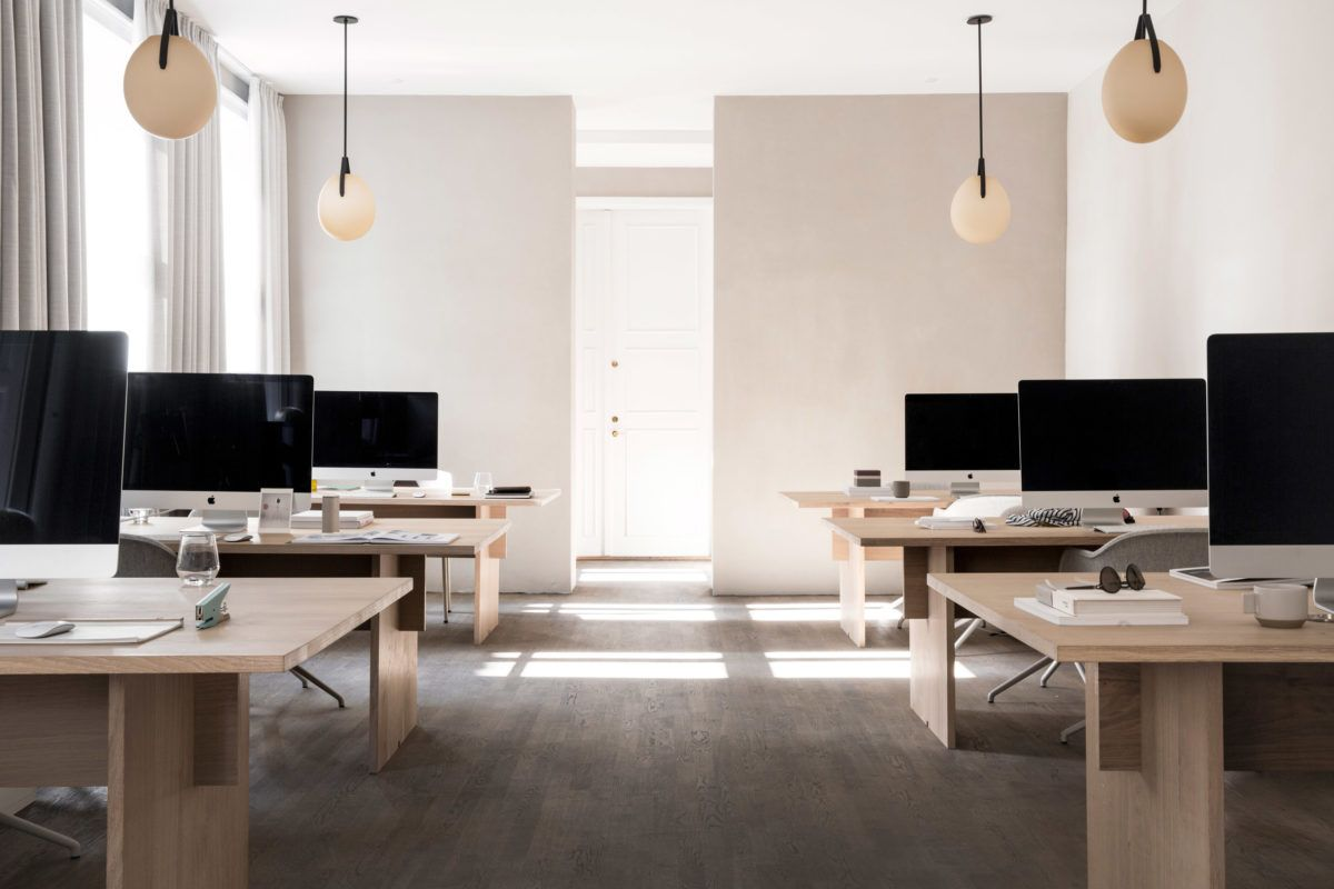 office interiors magazine. Norm Architects Creates Minimalist Workspace For Kinfolk Magazine 9. Office DesignsOffice IdeasKinfolk MagazineInterior Interiors T