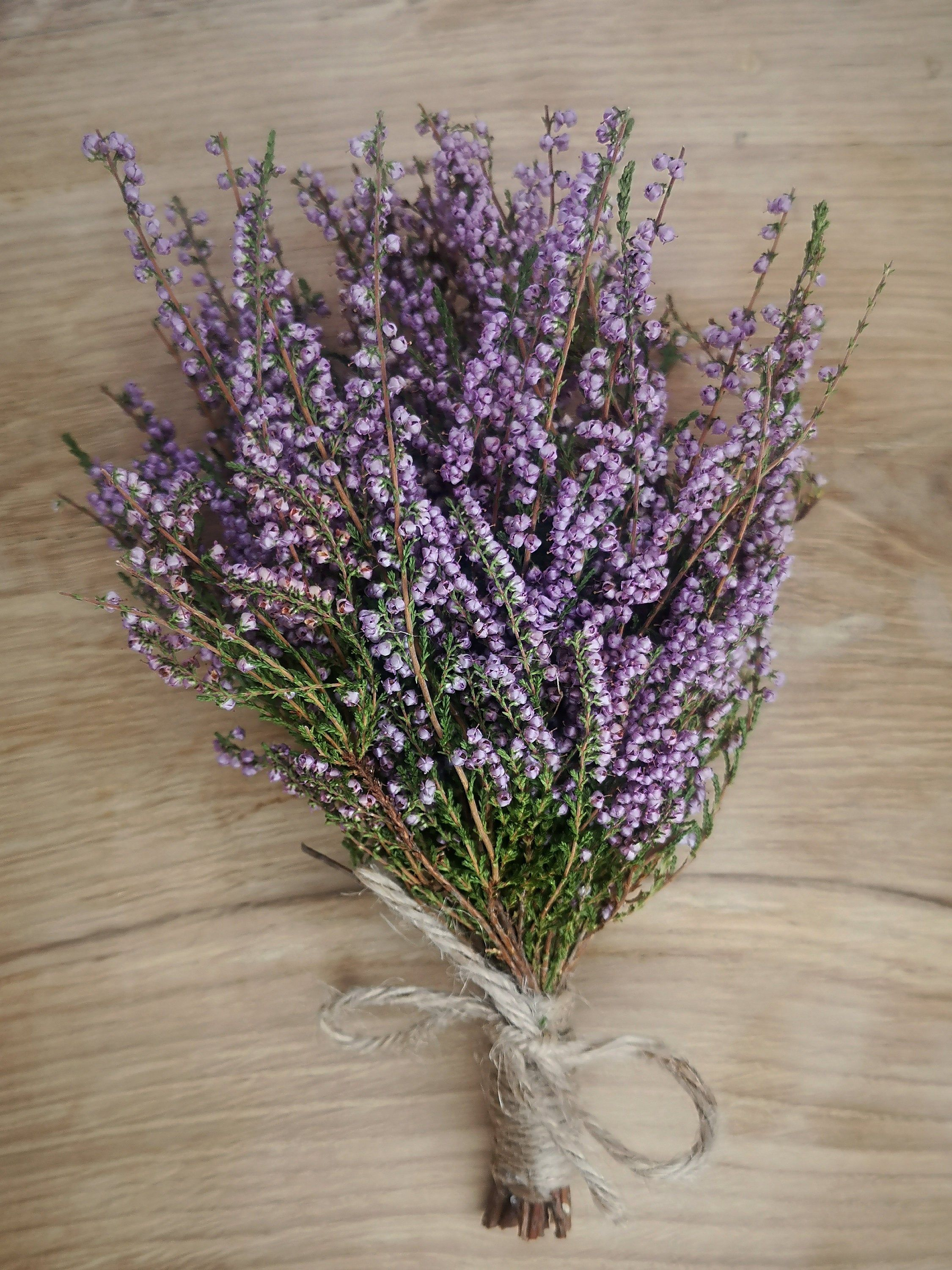 Dry Heather Flower Bouquet Dried Heather Flower Bunch Etsy Heather Flower Scottish Flowers Flowers Bouquet