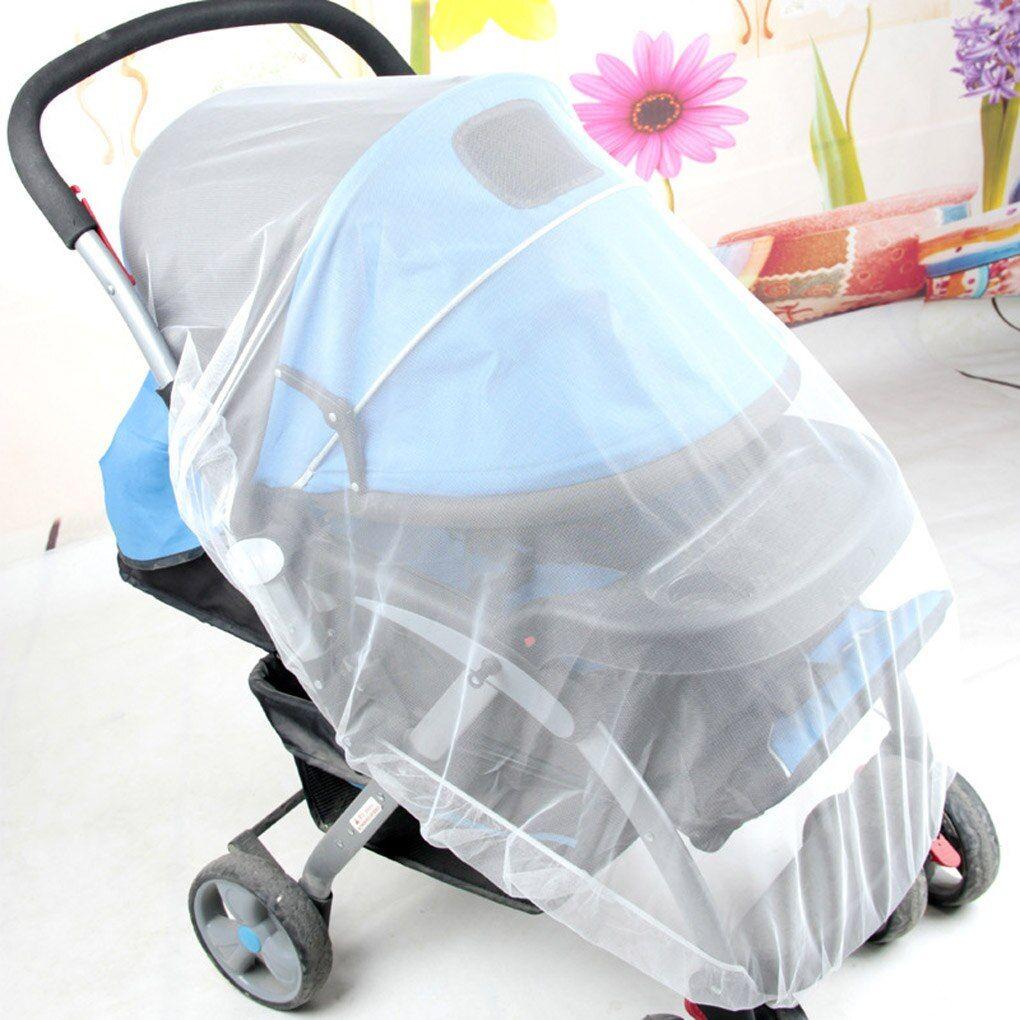 Child seat mosquito net child net baby safety net white