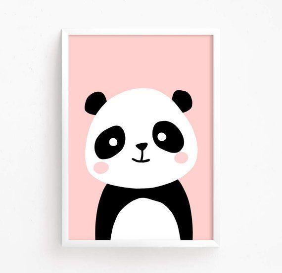 Photo of Sale 50% Off – Baby Panda Bear Poster ( nursery art nursery printable Woodland Animal Wall art panda printable Instant Download Digital )
