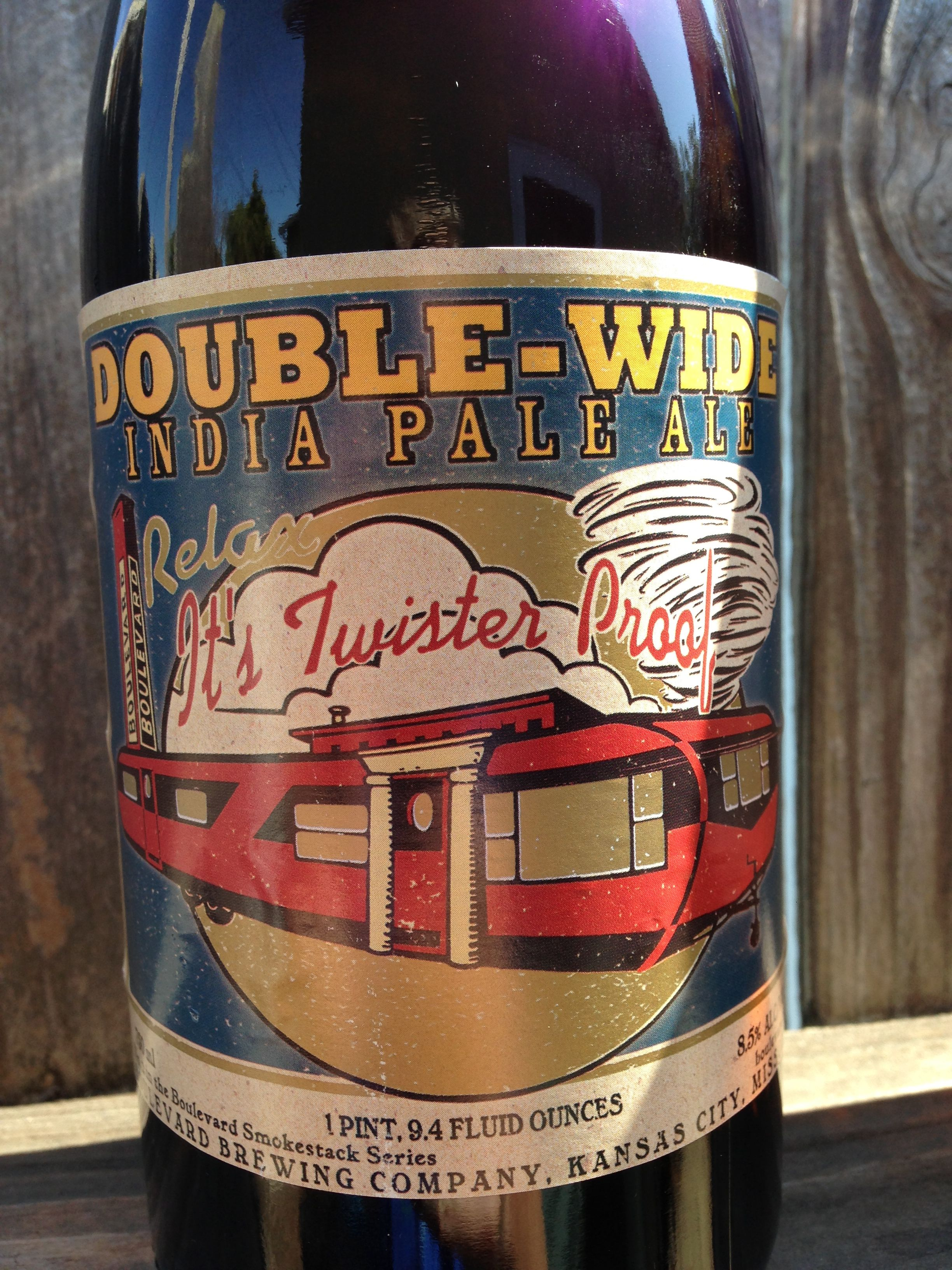 Boulevard brewing double wide ipa bottle ipa kansas city