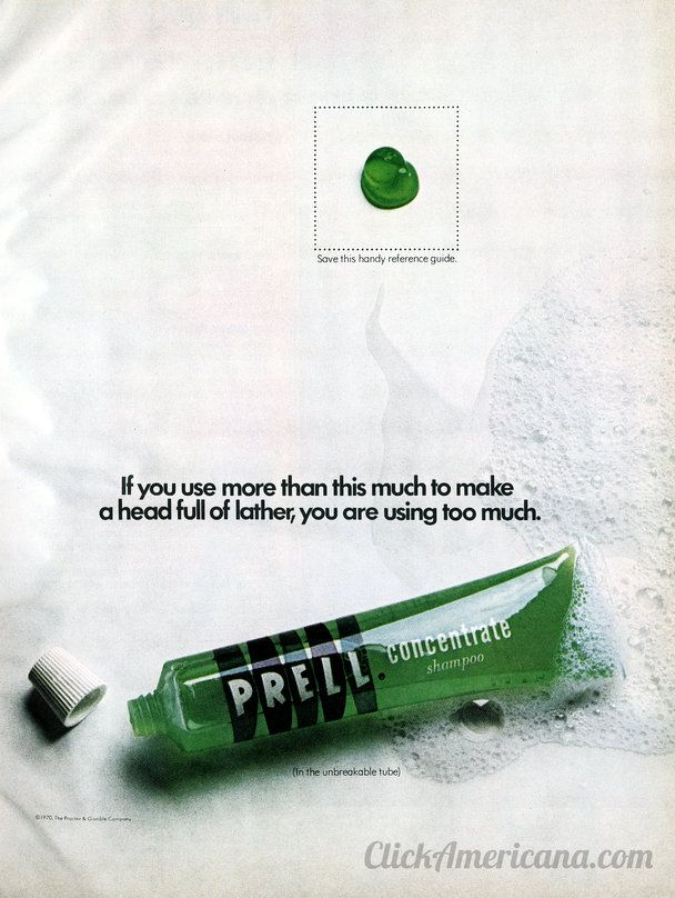 Do You Remember Bright Green Prell Shampoo The 50sand 60s