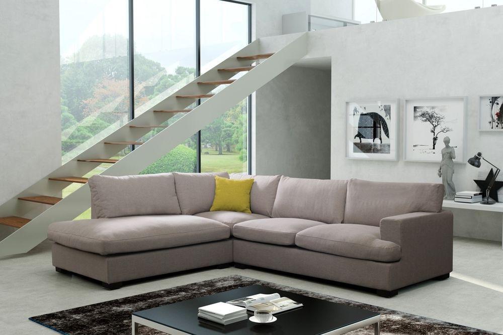 Couchgarnitur Sofa Couch DAVIS L Wohnlandschaft Polsterecke sehr - big sofa oder wohnlandschaft