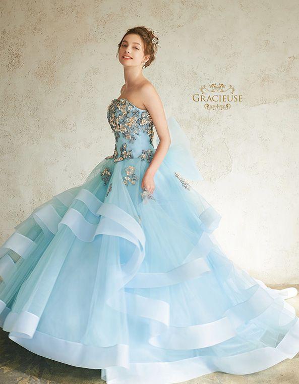 COLLECTION - GRACIEUSE【グラシューズ】  ウェディングドレス   ドレス ...