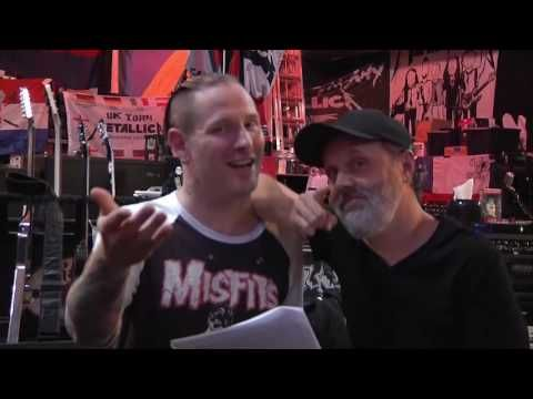 Lars Ulrich and Corey Taylor Invite You To Listen Sunday Night At 7:00