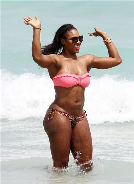 6ca5274a9f Serena Williams pink bikini - Serena Williams  best bikini moments