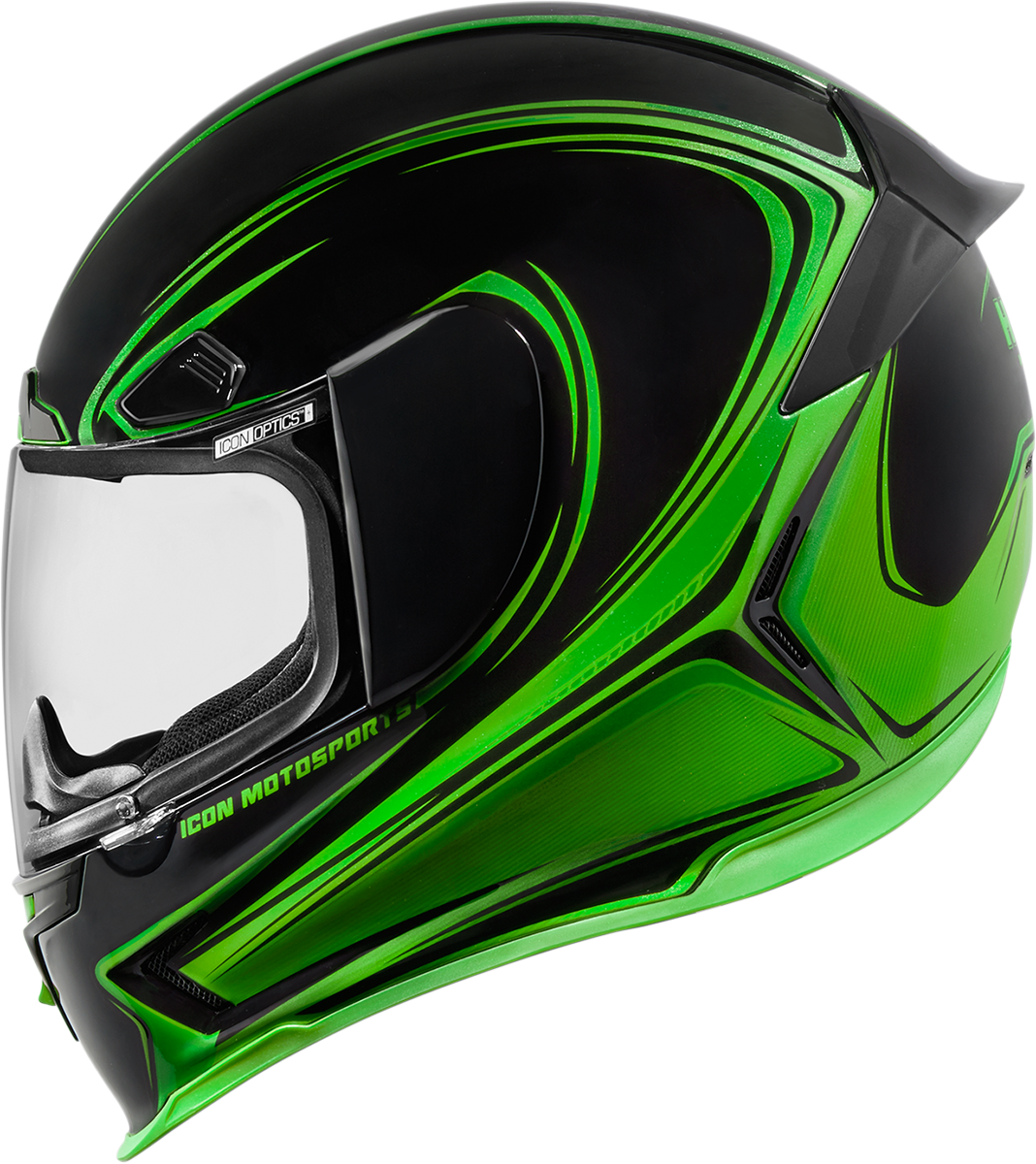 Airframe Pro Halo Green Products Ride Icon