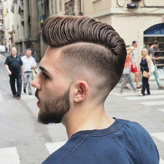 Resultado de imagen para corte de cabello con raya para hombre