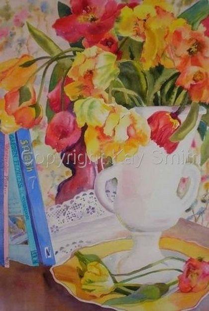Kay Smith - тюльпаны