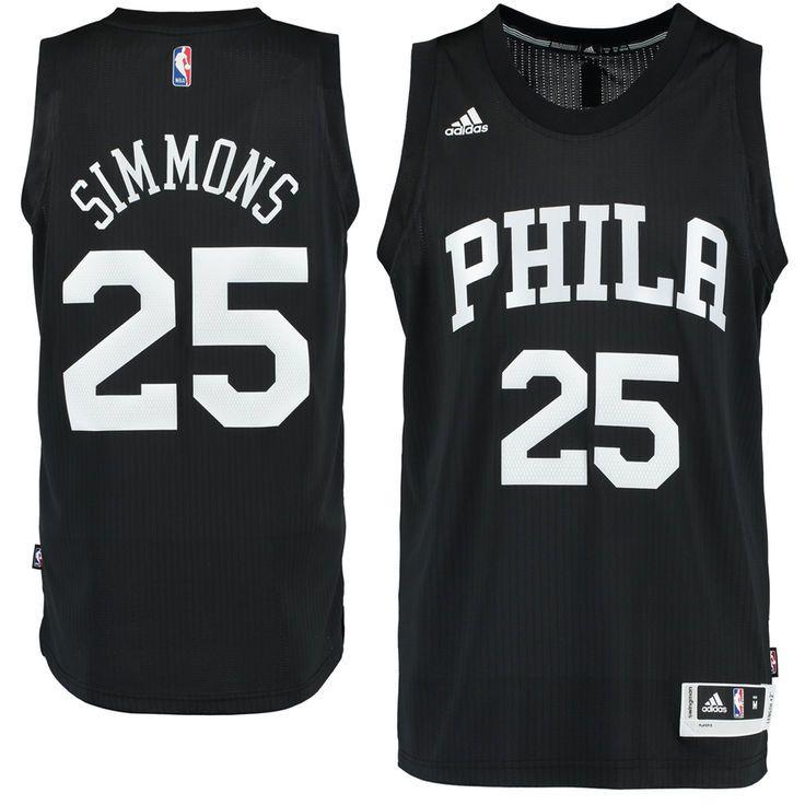 Ben Simmons Philadelphia 76ers adidas Fashion Swingman climacool Jersey -  Black -  109.99 d2f78756d