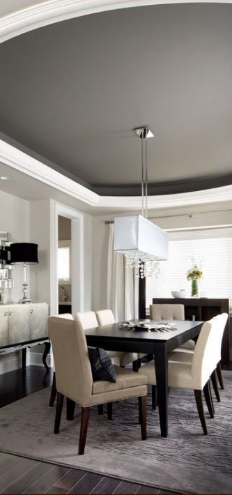 Dining Room Dark Romantic: 40+ Beautiful Modern Dining Room Ideas
