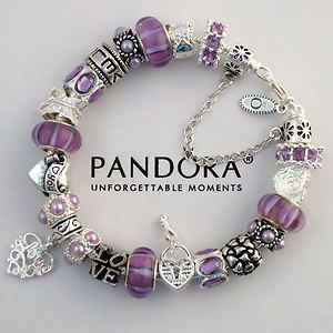 Purple Pandora Bracelet With Charms He Picks For Me Fun To See What Would Choose Describe Nordstrom