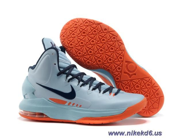 detailed look 8a17e 7baec Discounts 554988 400 Nike Zoom KD V Ice Blue Orange
