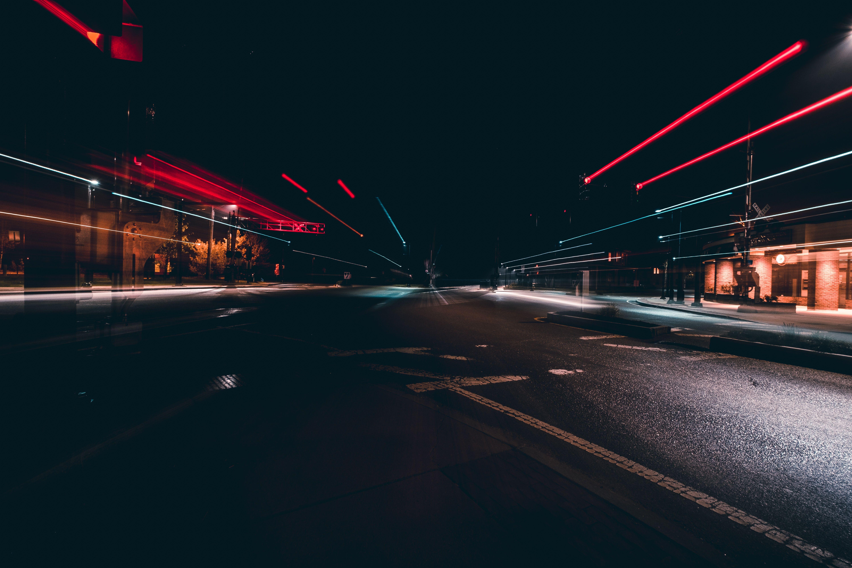 Car Manipulation Wallpapers Smokee City Lighting Road Hd Wallpaper Long Exposure
