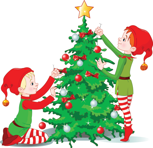 Decorating The Christmas Tree Facebook Symbols Emoticons