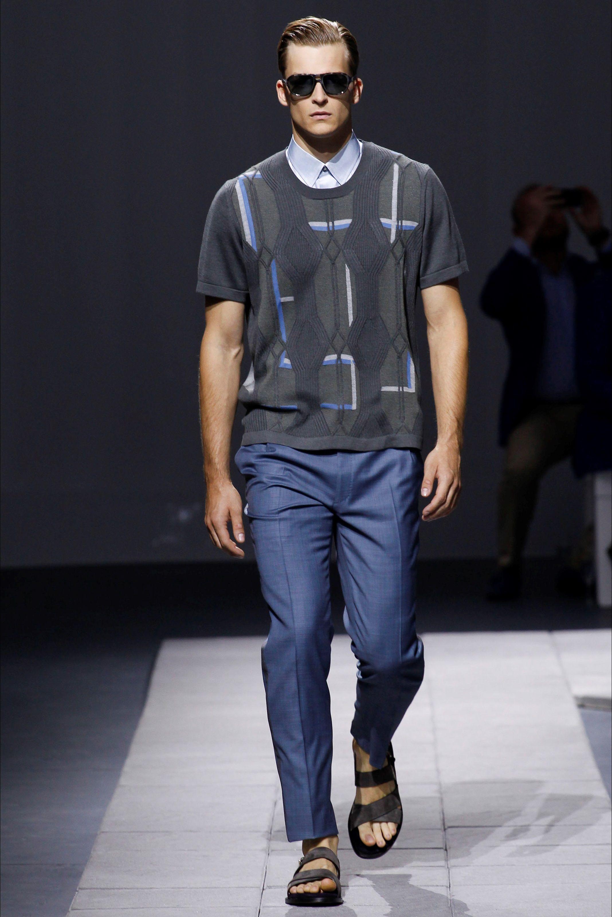 Sfilata Moda Uomo Brioni Milano - Primavera Estate 2016 - Vogue ... c9285cde68c