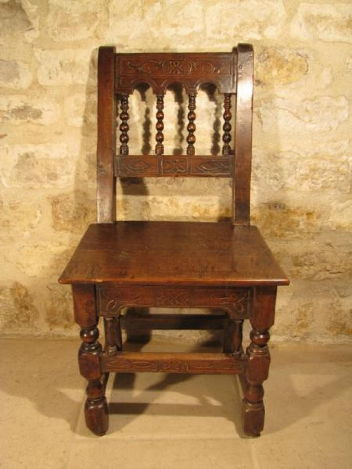 Antique for sale Flemish seat with balusters and marquetry Chair Seat Furniture