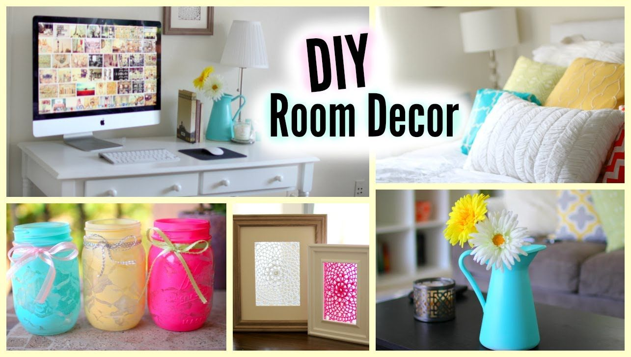 Diy room decor cute and affordable decorations diy for Cute bedroom accessories