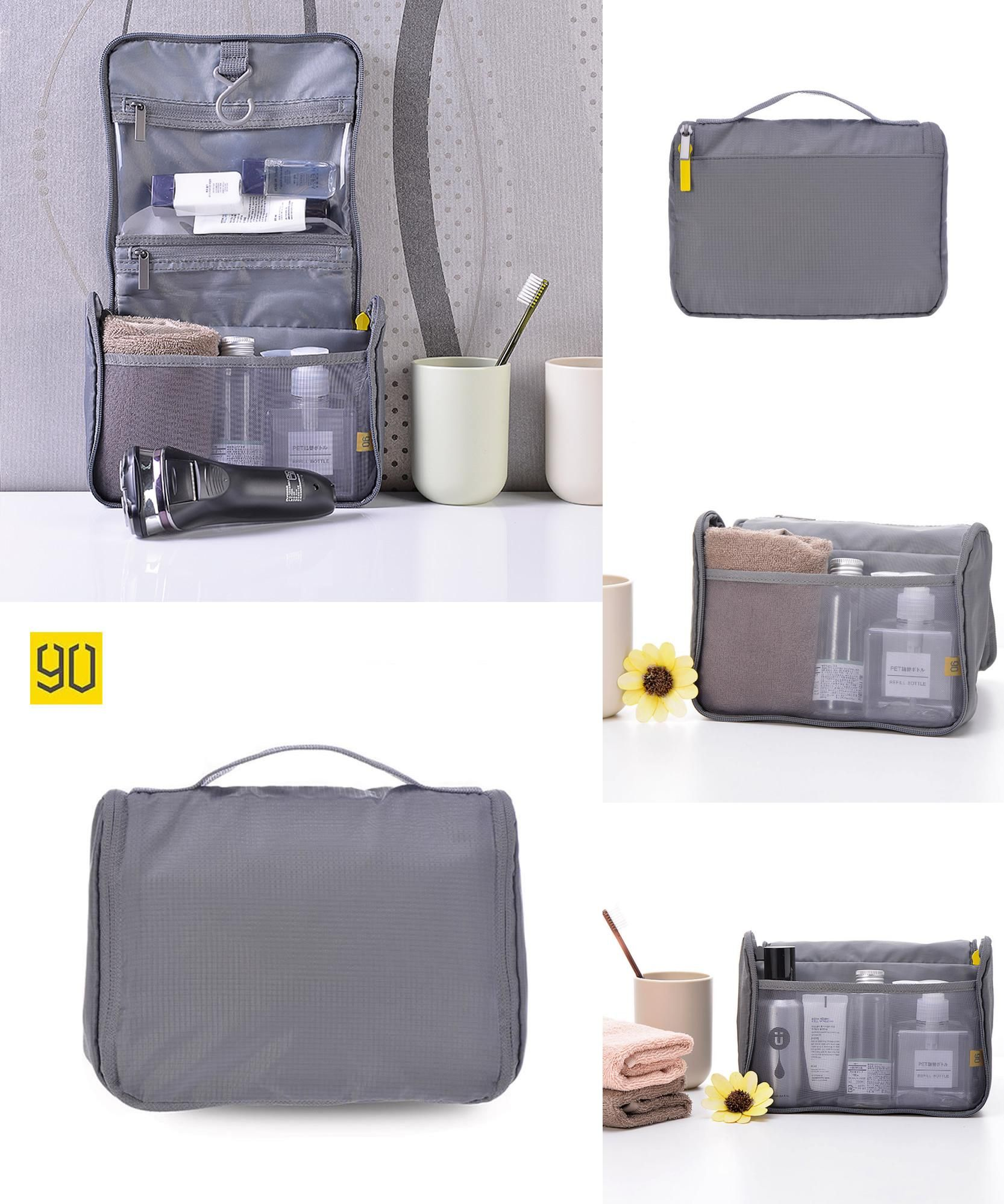 Visit to Buy  90 Points Travel Set High Quality Nylon Waterproof Portable Man  Toiletry 685db5af49d23