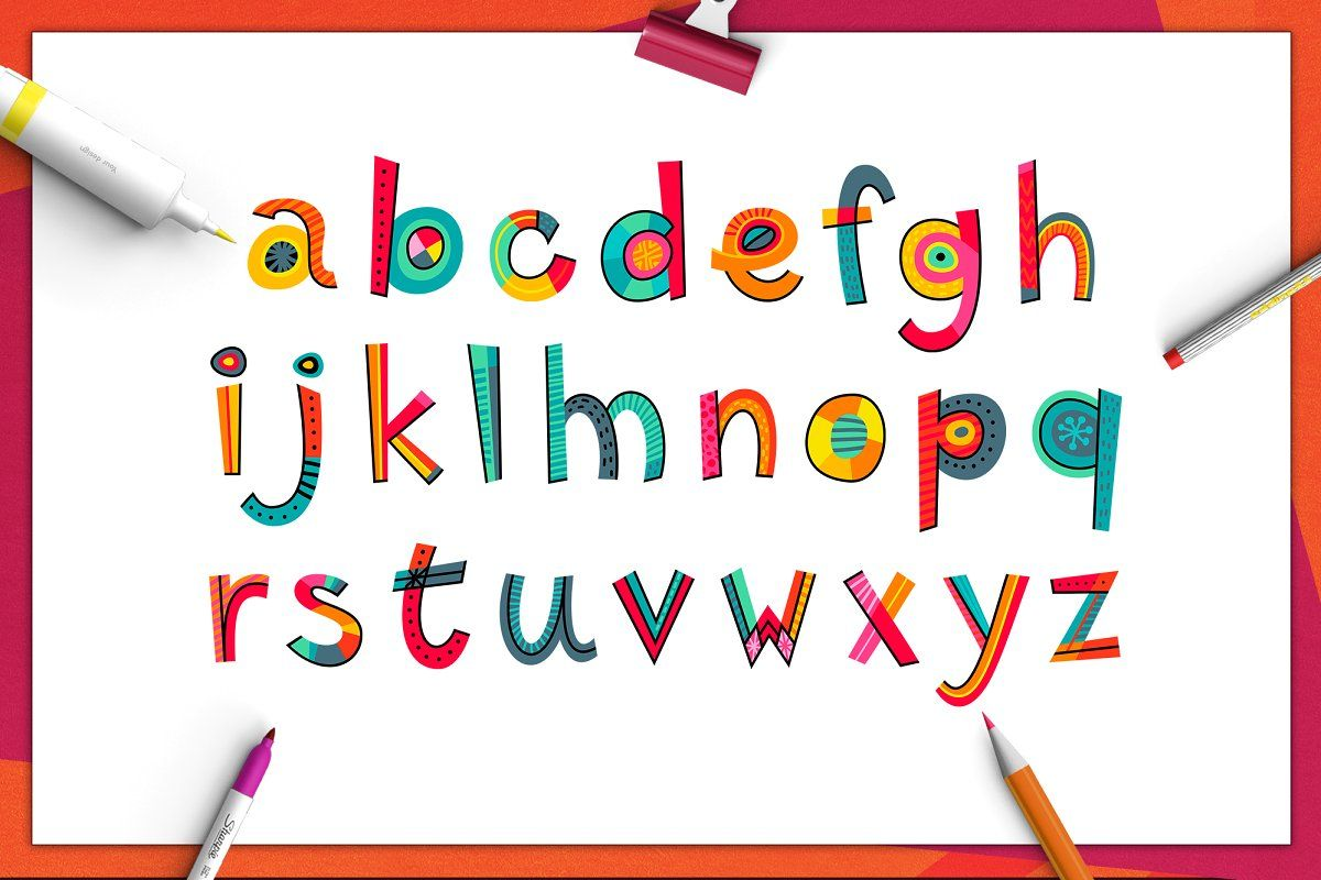 Yeah! - alphabet & set of words | Words, Unique greeting cards, Letter set
