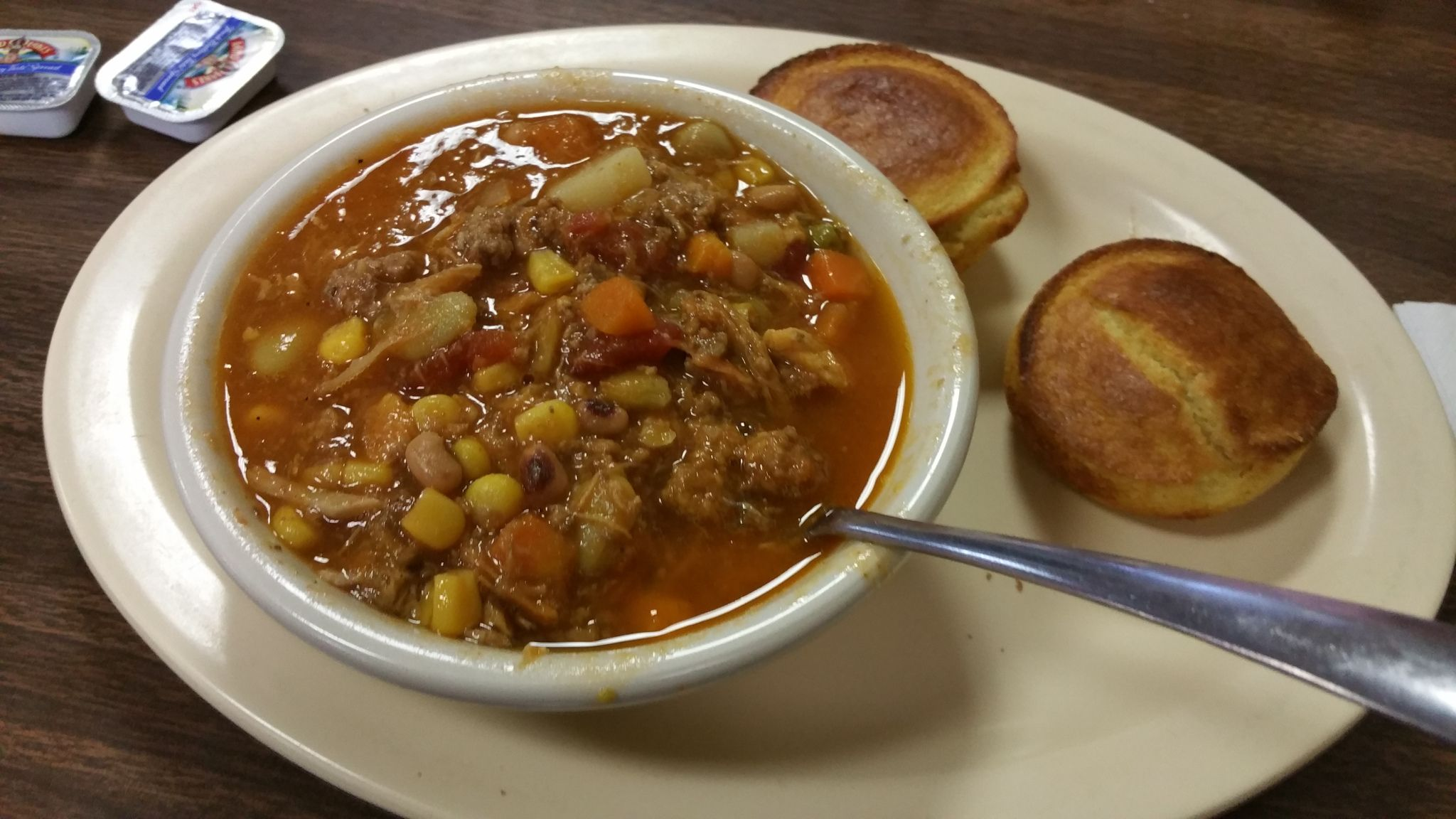 It\'s Christmas morning in Kentucky and I have burgoo simmering on ...