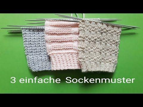 Photo of 3 einfache Sockenmuster stricken