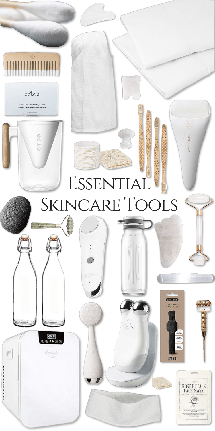 My Favorite Skincare Tools How To Use Them Annie Fairfax Favorite Skincare Products Skin Care Tools Glass Skin