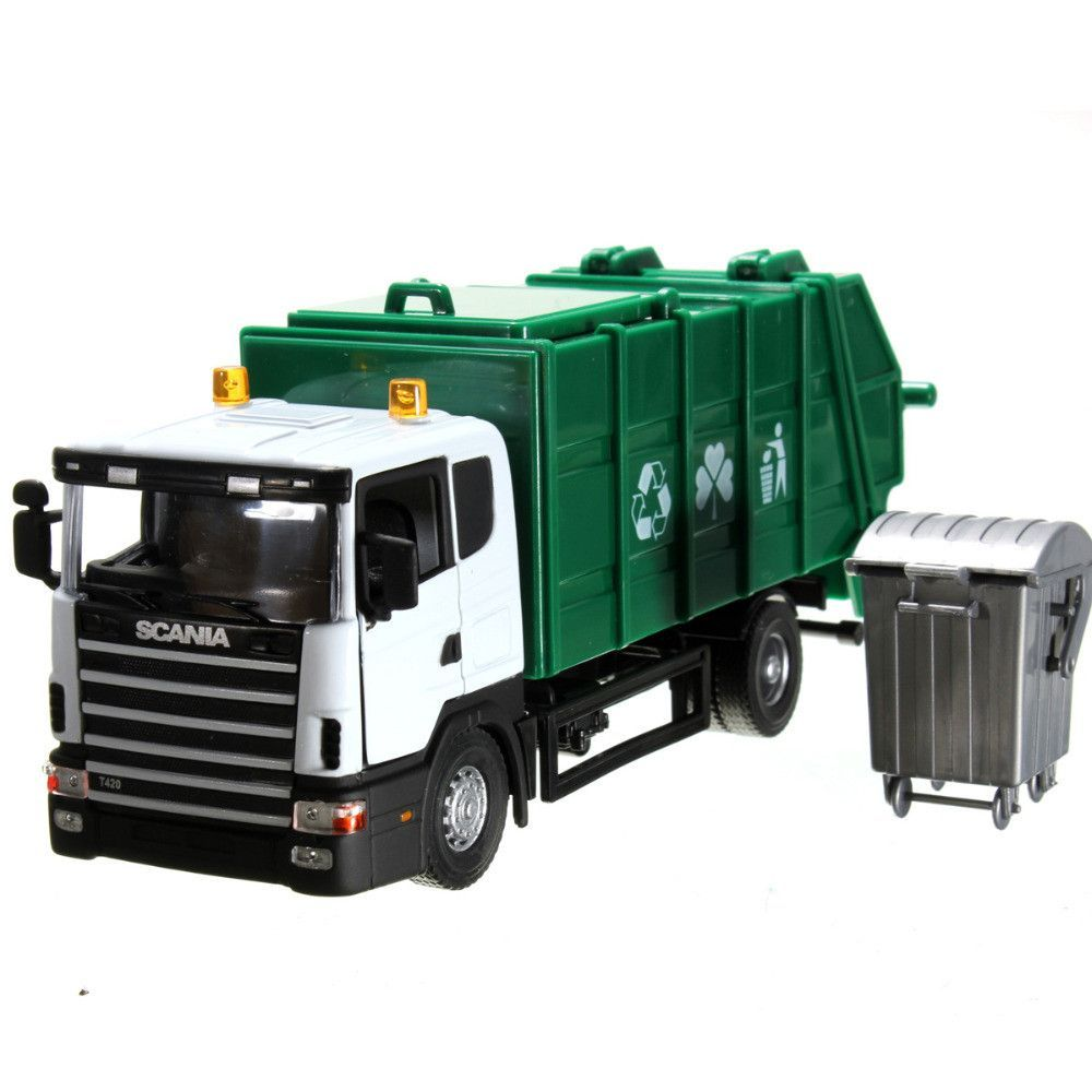 NEW 18*8*7cm Scania truck garbage truck waste truck eco-friendly car ...