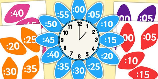 analogue to digital clock label flower clock flower petals matek 2 o pinterest clock. Black Bedroom Furniture Sets. Home Design Ideas