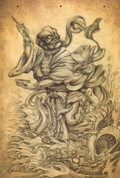 6ce4c4b88ff93 Фотография | Индия | Tattoos, Traditional tattoo, Japanese tattoo art