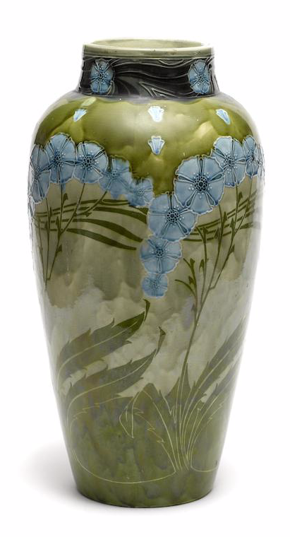 Wadsworth Motor Cars >> John Wadsworth for Minton A Secessionist Ware Floor Vase ...