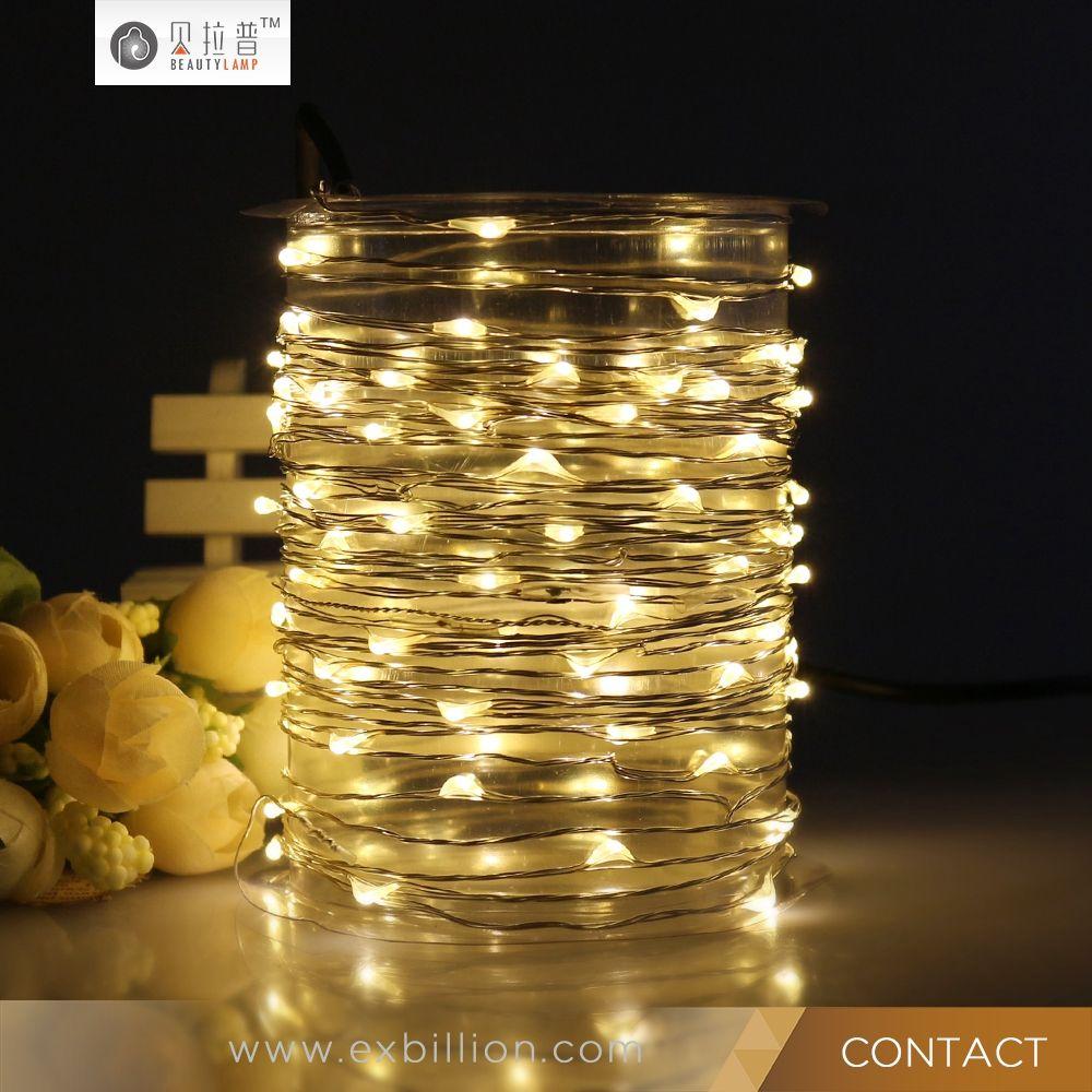 factory price decorative led christmas light  led string light