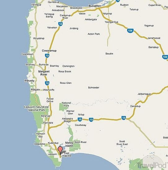 map of margaret river region google search