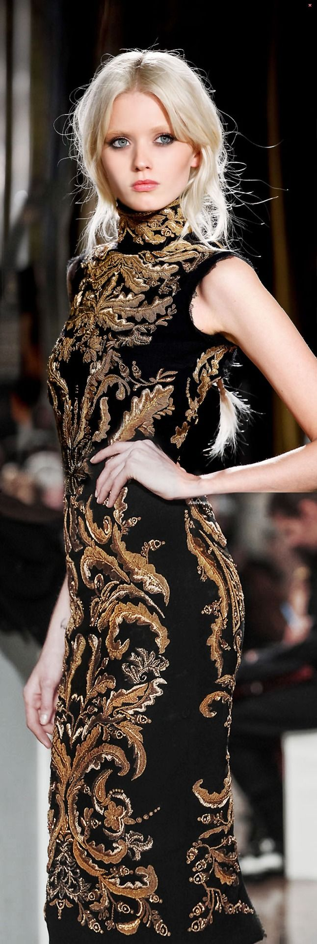 Emilio Pucci, would be great with some little sleeves :)