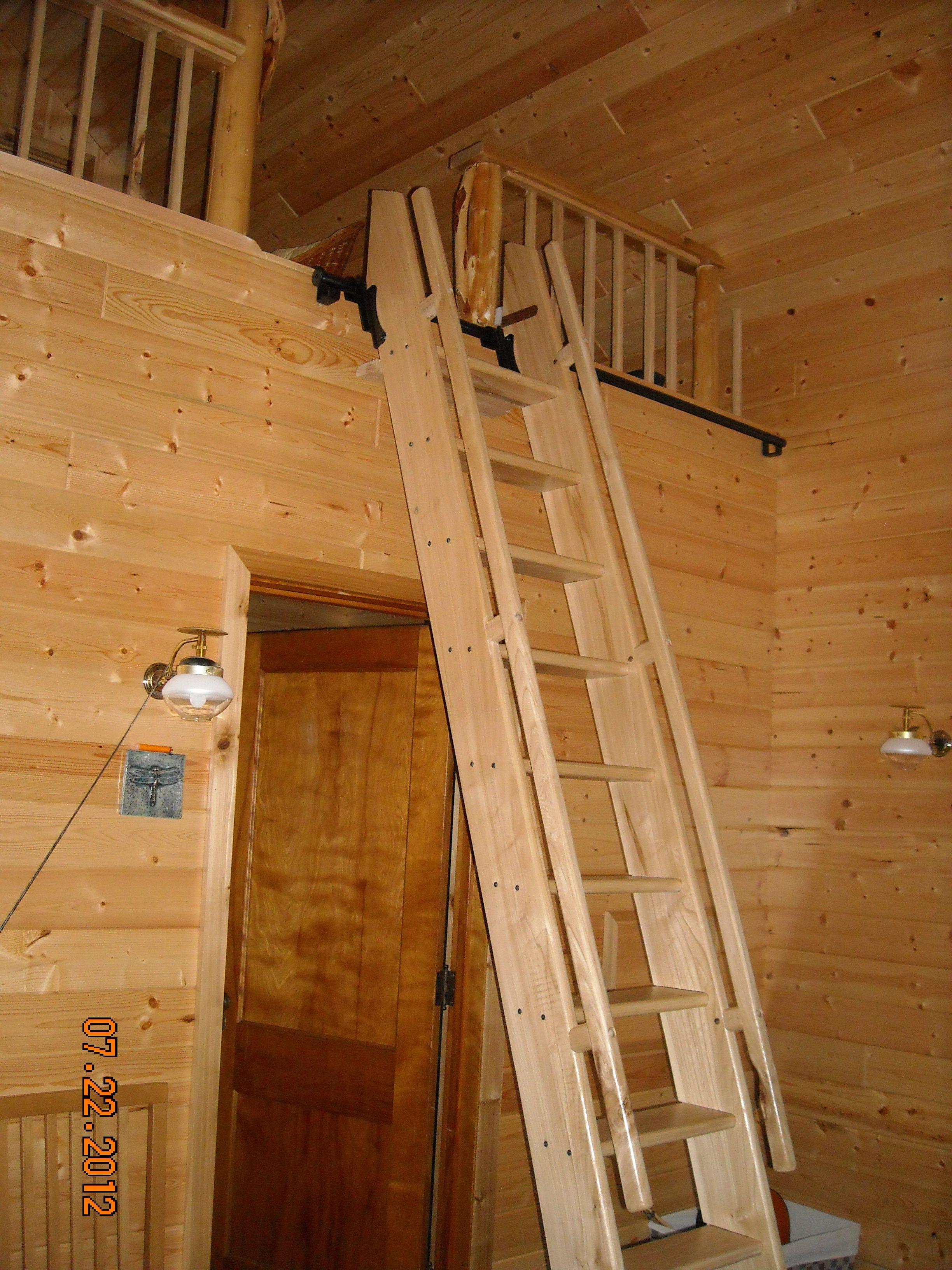 Elm Ship S Style Ladder With Rockler Hardware For Loft