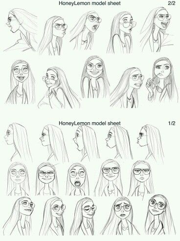 These are all my facial expressions :D