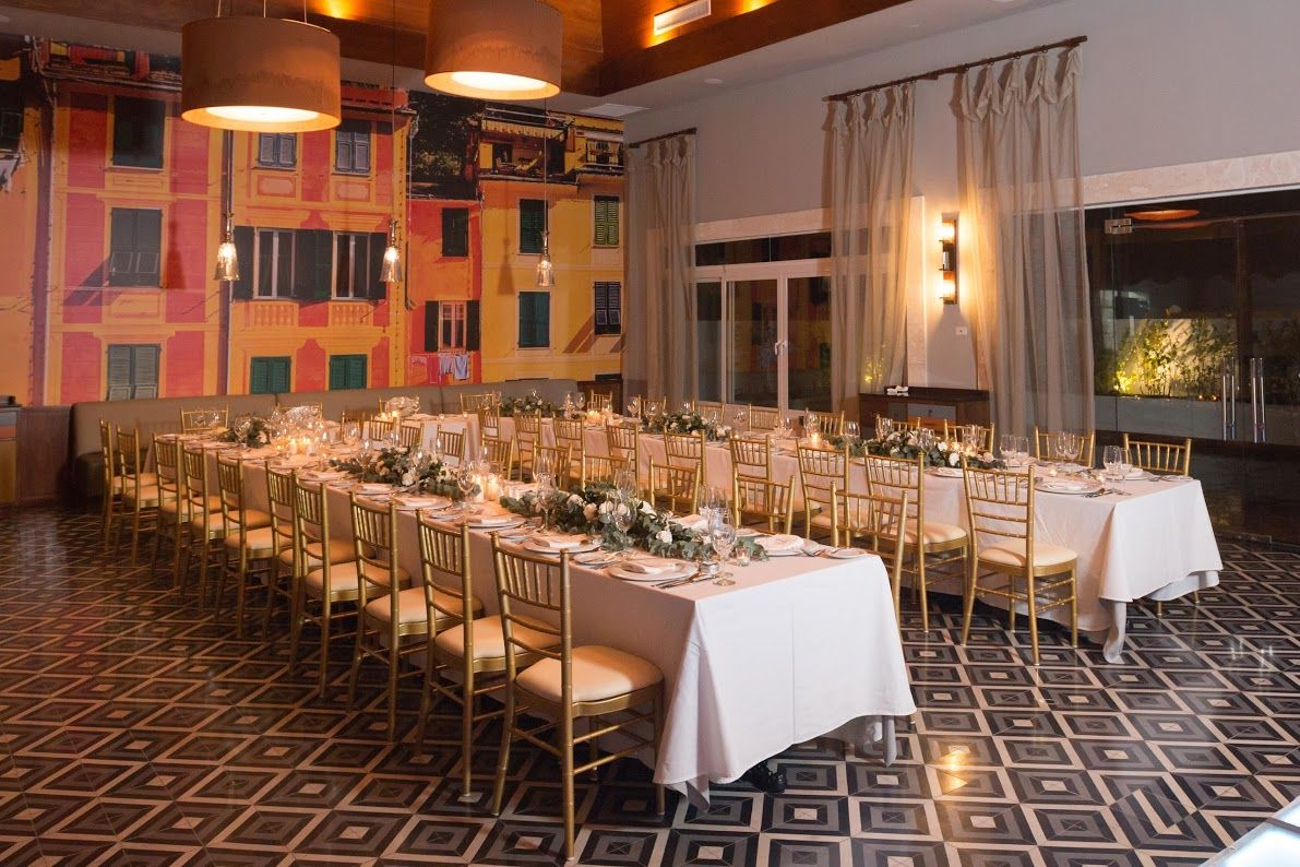 Enjoy Your Dream Reception In The Portofino Restaurant Here At