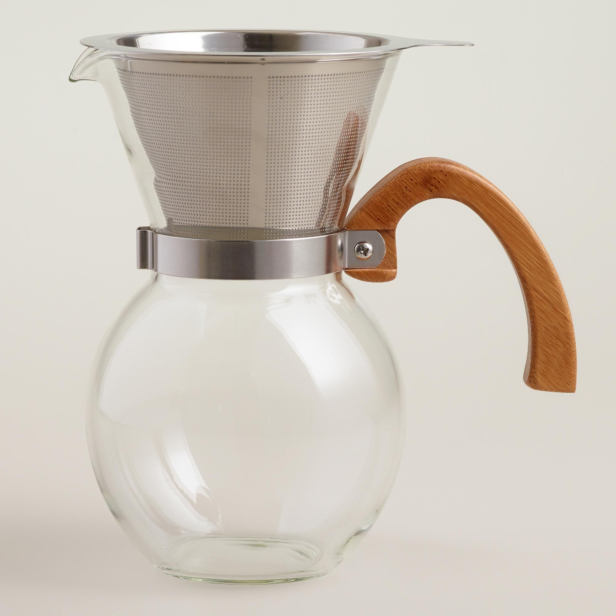 Make delicious slow brew coffee and serve it immediately with our