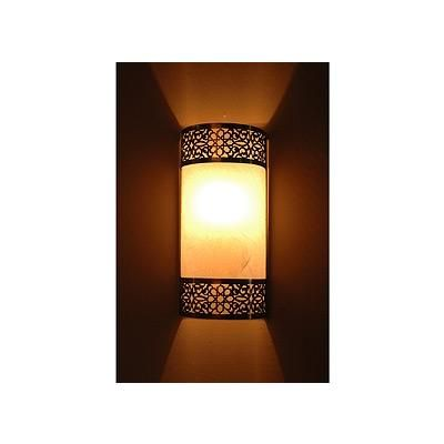 Transitional Wall Sconce from Saint Tropez Stone, Model: Moroccan style sconce Exterior ...