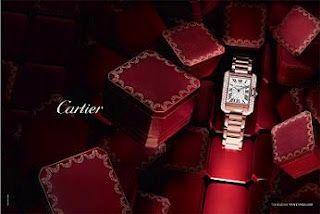 Cartier jewelry diamonds watch