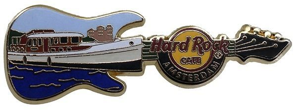 Hard Rock 2015 Amsterdam Dutch Boat Series 3 Pin | eBay