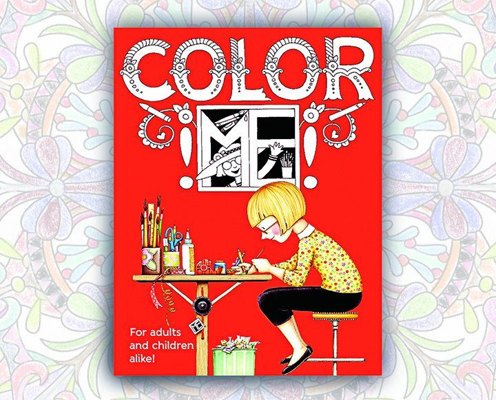 Color ME Coloring Book By Mary Engelbreit 11 Studios Offers