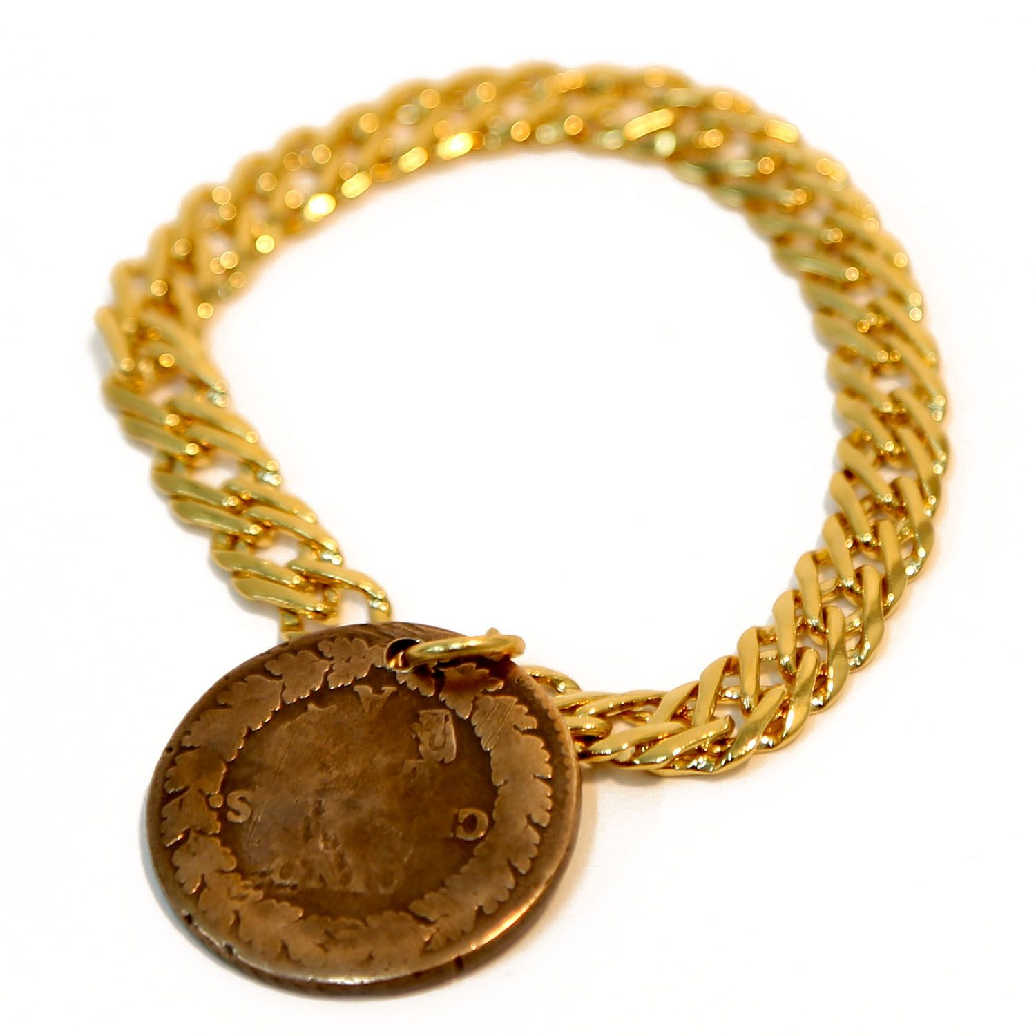 Ax Apple Coin Bracelet 7 Chain Jewelry Pinterest Coins