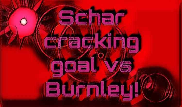 Gif Fabian Schar Cracking Goal Against Burnley Burnley Goals Premier League Matches