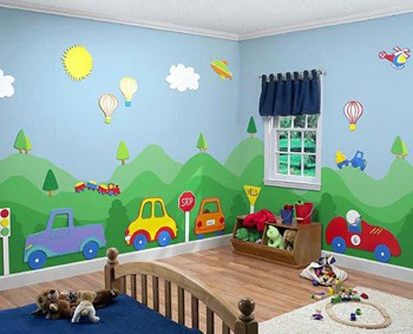 Pin by elena barrantes on sami cuartos para bebes - Cuarto de ninos decoracion ...